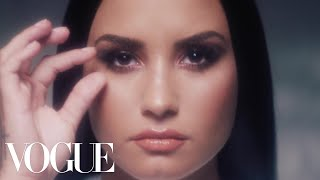 Demi Lovato, Unfiltered: A Pop Star Removes Her Makeup | Vogue