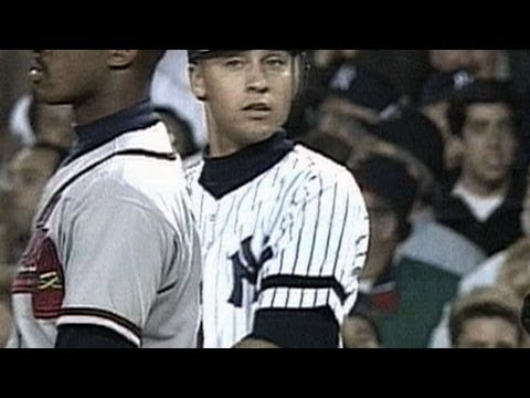 1996 WS Gm6: Jeter RBI single gives Yankes 2-0 lead