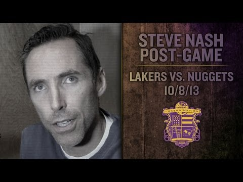 Lakers vs. Nuggets: Steve Nash Says Pau Gasol, Chris Kaman Combo Exceeded Expectations