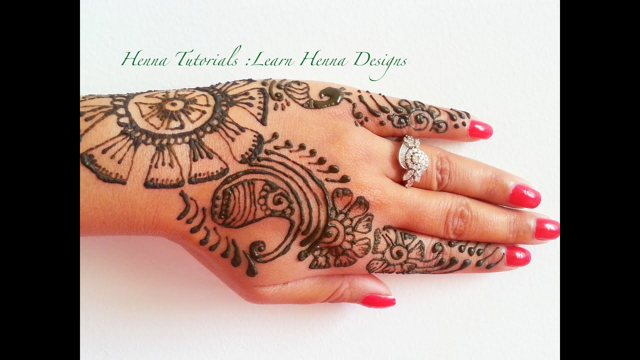 Book of simple mehndi design tutorial domseksa unique henna on pinterest henna tutorial easy henna patterns and henna baditri Images