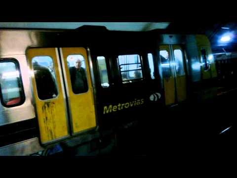 Subtes Alstom y Fiat en las estaciones S. Ortiz y Pueyrredón
