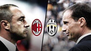 Milan-Juve, la vigilia - The build-up