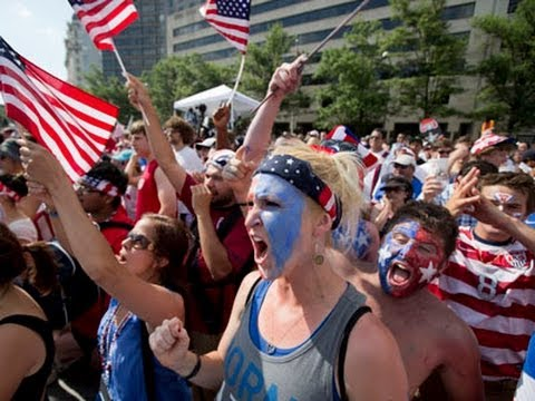 Raw: Joy, Disappointment for US World Cup Fans