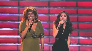 "Jessica Sanchez & Jennifer Holliday ""And I Am Telling You"