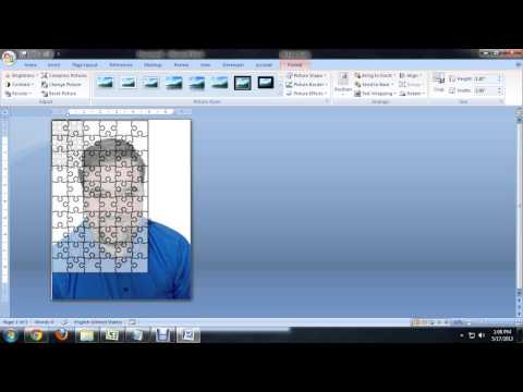 How to Create Jigsaw Puzzles in Microsoft Word, PowerPoint or Publisher : Tech Niche