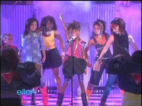 Ellen - Willow Smith performance & interview