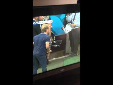 "Jurgen Klinsmann ""Why the F*CK that's 1 minute!"" USA vs Belgium 2014 World Cup"