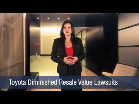 Toyota Diminished Resale Value Lawsuits