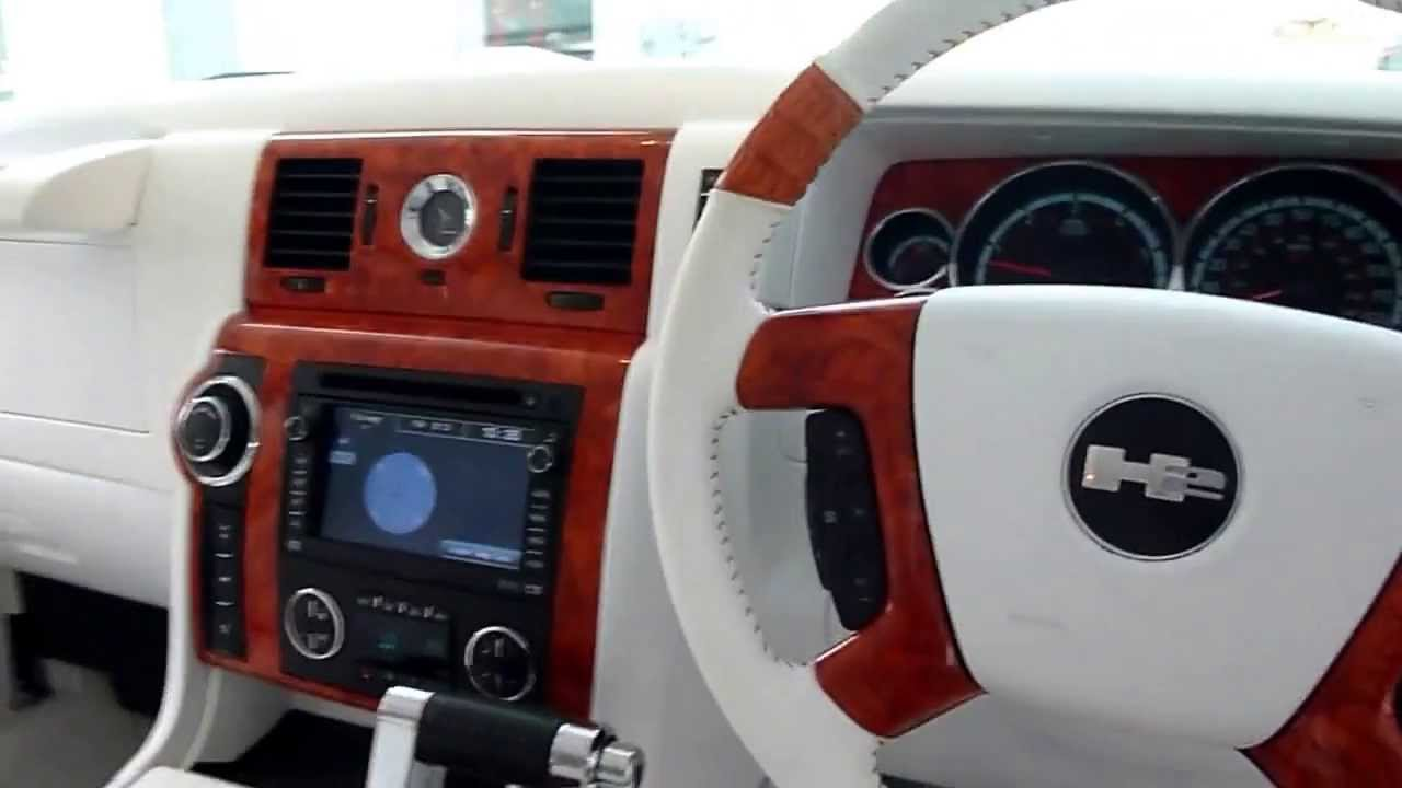 Hummer h2 interior submited images