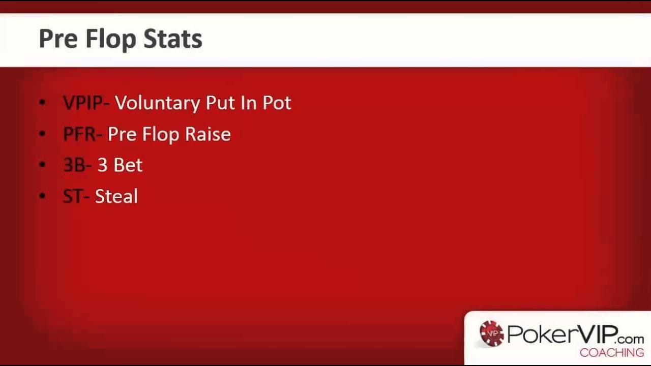 Poker hud stats for sng