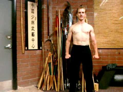 Chinese Qi Gong Posture #6