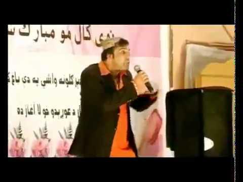 Pa Yarana Ke Kho Bangre Mategi pashto nice new song 2012 -sardar sayed.flv