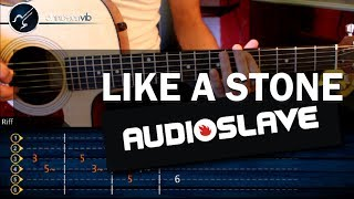 Como Like a Stone - AUDIOSLAVE - en Guitarra Acustica (HD) Tutorial