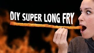 DIY SUPER LONG FRENCH FRY - VERSUS