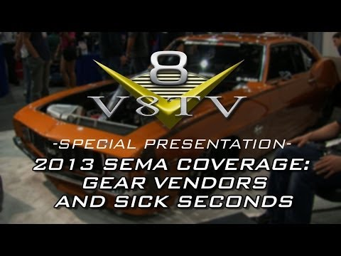2013 SEMA Video Coverage: Gear Vendors and Sick Seconds Camaro V8TV