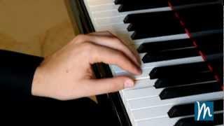 Piano: posición de las manos