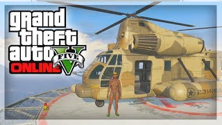 GTA Online Glitches: How To Buy The Cargobob! GTA 5