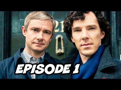 Sherlock Season 4 Episode 1 Easter Eggs - Benedict Cumberbatch is Back