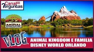 VLOG: Animal Kingdom, Disney World Orlando Florida EUA