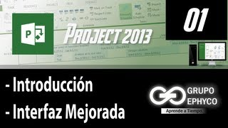 01. Curso De PROJECT 2013 (Introducción E Interfaz