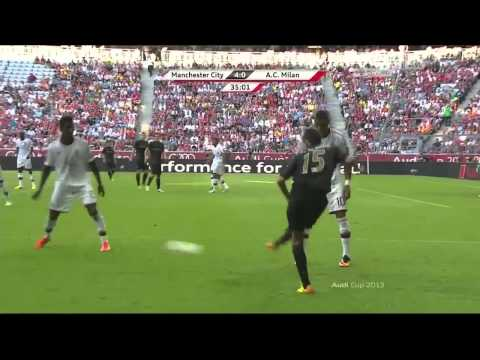 Audi Cup Manchester City - AC Milan 31-07-13 (5-3) Full Game