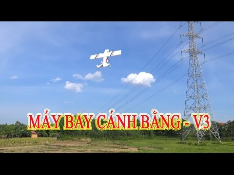 Hướng dẫn làm máy bay cánh bằng - v3 - Twins Cargo Plane