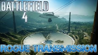 Battlefield 4 Multiplayer | CONQUEST ON ROGUE TRANSMISSION | I lose badly