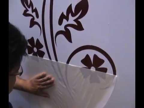 Adhesivos de vinilo decorativos para tu pared - Modelos de mamparas de ducha ...