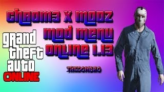 GTA 5 Online Mod Menu Xbox360 Made By Chr0m3 X MoDz