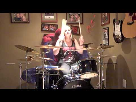 Jordyn Zubyk - Pierce the Veil - King For a Day Drum Cover