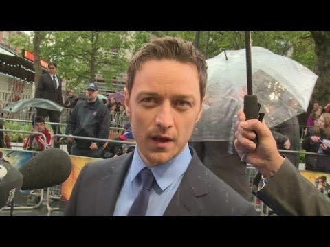 Jennifer Lawrence fall: James McAvoy's advice
