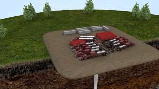 Video animado de Fracking