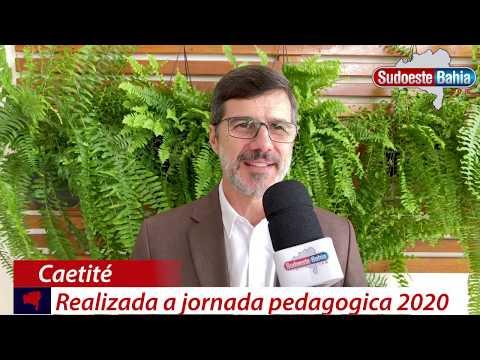 Caetité: abertura da jornada pedagógica reúne profissionais da educação