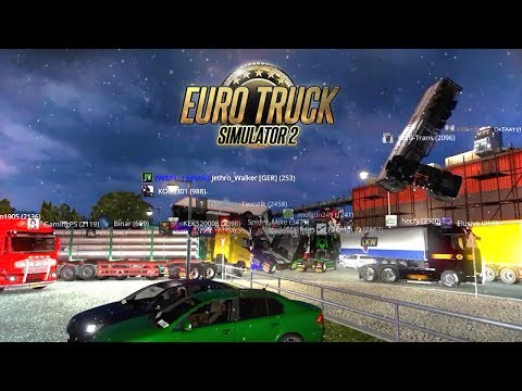 BEST OF Euro Truck Simulator 2 Fails & Funny Moments