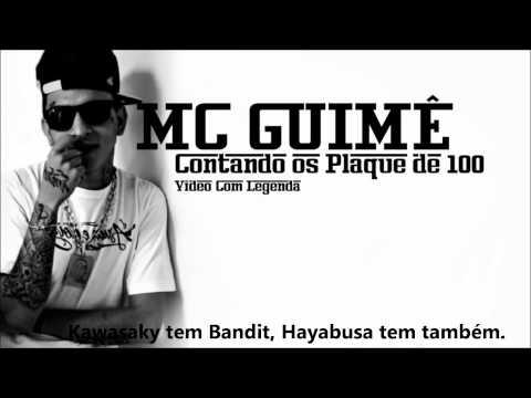 MC GUIME - CONTANDO OS PLAQUE DE 100  COM LETRA LANÇAMENTO 2012