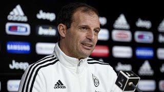 Sampdoria-Juventus, la conferenza di Allegri- Allegri's press conference