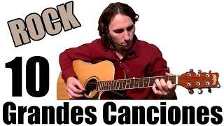 Aprende 10 Grandes Canciones De Rock Fáciles En Guitarra