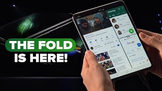 Galaxy Fold: Watch Samsung unveil the foldable phone