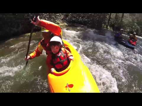 Jackson Kayak: Day with the Family down the Nantahala river, NC