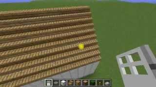 Como Fazer Um Telhado No Minecraft.FLV
