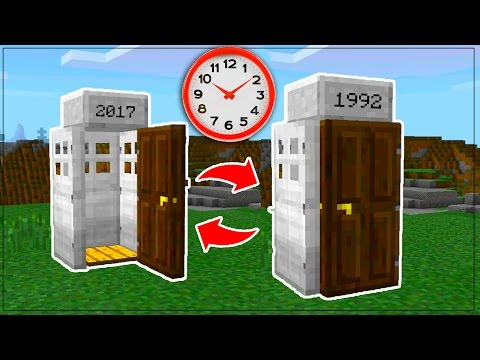 how to make a time machine in minecraft xbox