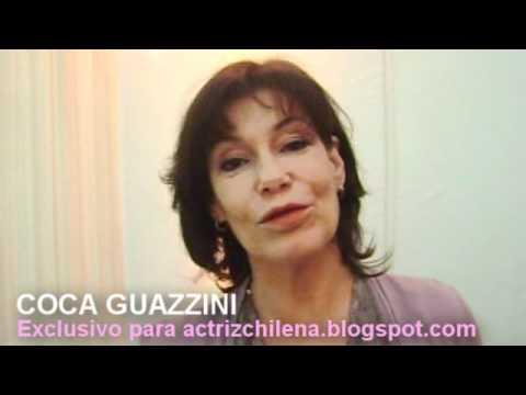 Coca Guazzini saluda al blog Actriz Chilena