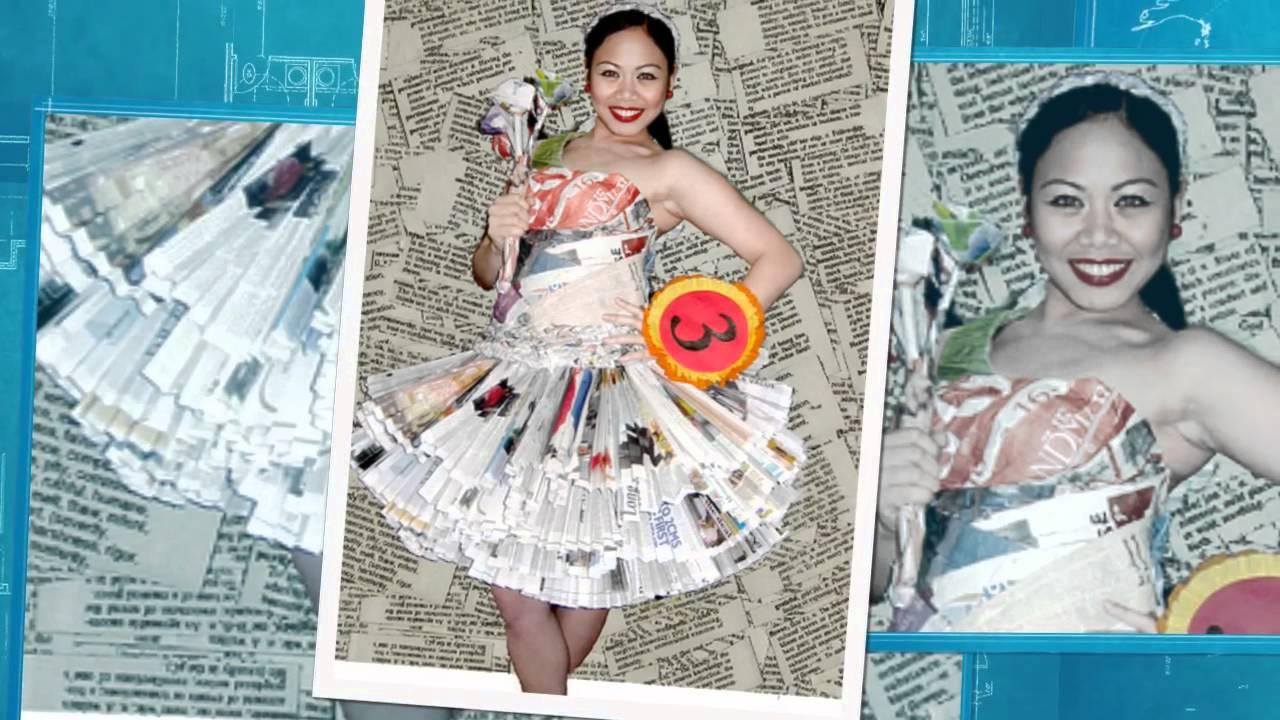 Vestidos De Material Reciclable Para | newhairstylesformen2014.com