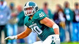 Max Bullough| Michigan State Highlights ᴴᴰ