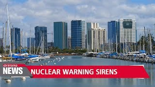 Hawaii reactivates nuclear attack warning sirens for first time in 30 years