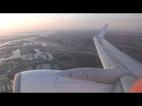 Corendon Dutch Airlines B737-800 Takeoff Amsterdam Airport Schiphol