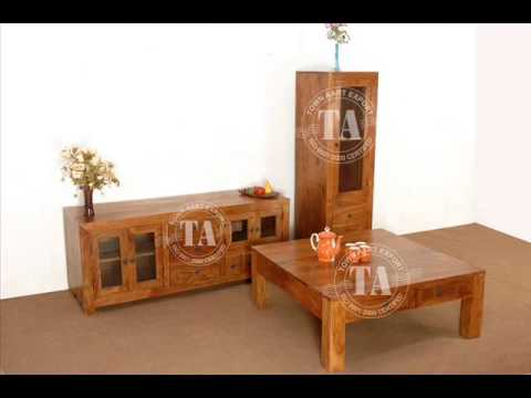 wooden living room furniture indian furniture handicraft youtube
