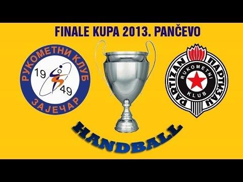 RK Zaječar 1949 – RK Partizan (Finale Kupa 2013. Pančevo)