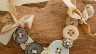 How To Make A Button Necklace By Michele Baratta Jewelry