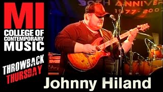 Johnny Hiland Band Throwback Thursday From the MI Vault 1/16/08